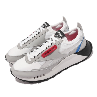 Reebok 休閒鞋 CL Legacy 復古 運動 男鞋 海外限定 經典款 厚底 舒適 穿搭 灰 白 FY7444