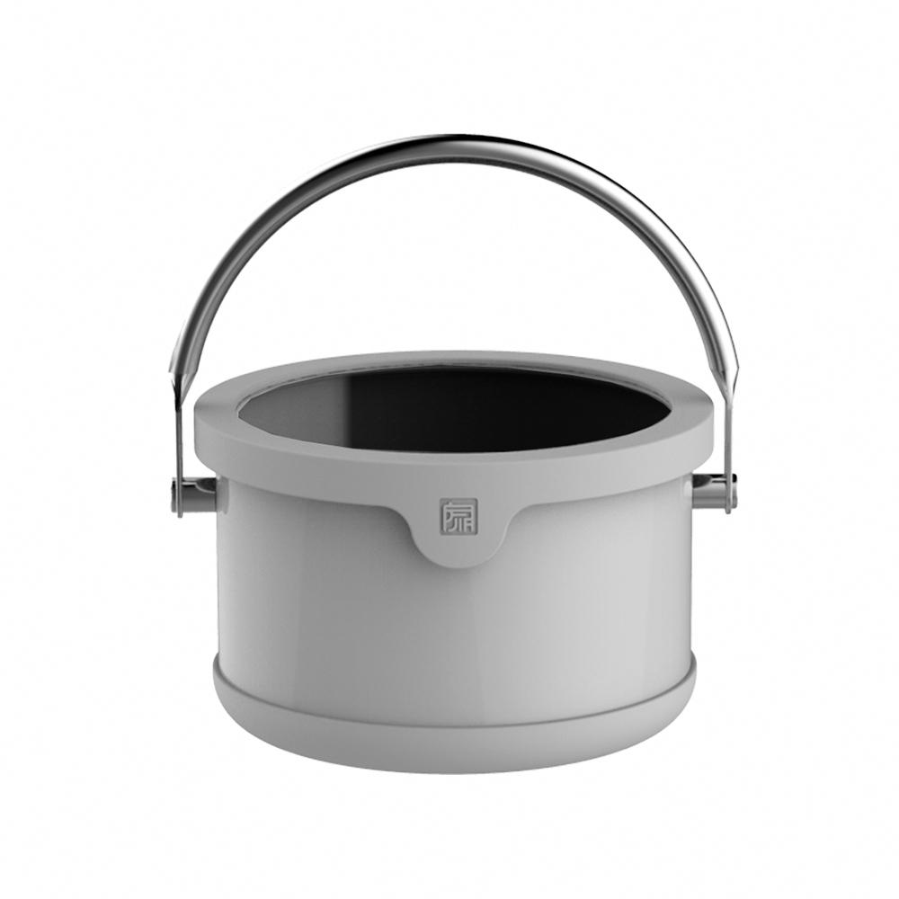 JIA Inc. 品家家品 虹彩鋼琺瑯便當提鍋16cm-灰色