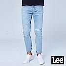 Lee 低腰合身小直筒牛仔褲-中淺色洗水
