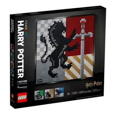 樂高LEGO ART 系列- LT31201 Harry Potter 霍格華茲學院徽章