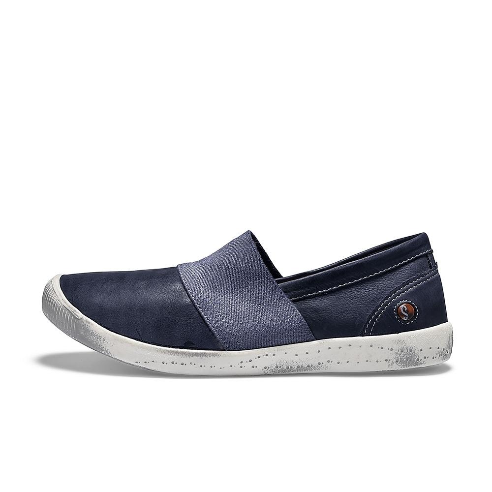 SOFTINOS INO 休閒鞋-海軍藍