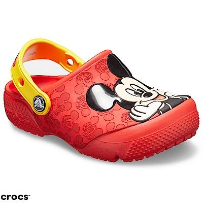 Crocs 卡駱馳 (童鞋) 米奇小克駱格 205427-8C1