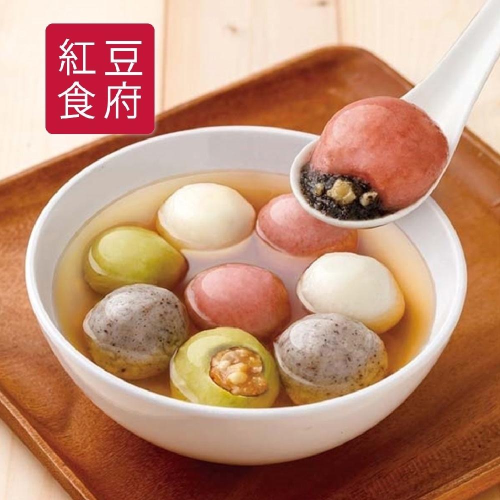 紅豆食府SH‧鴻運四喜湯圓(10顆/盒,共2盒) (年菜預購)