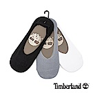 Timberland 男款黑灰白三入組隱形襪|A1EB8