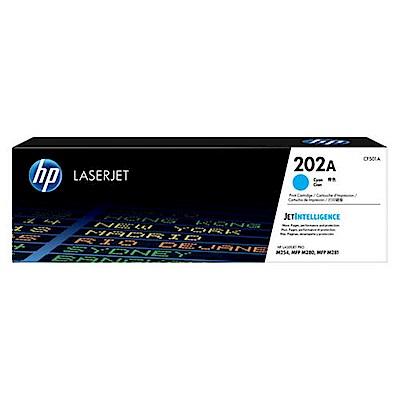 HP CF501A LaserJet原廠青色碳粉匣
