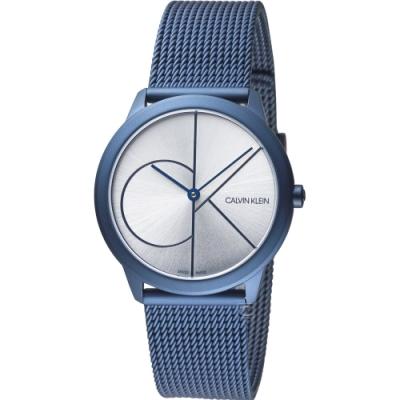 Calvin Klein minimal 大ck簡約時尚腕錶(K3M52T56)35mm