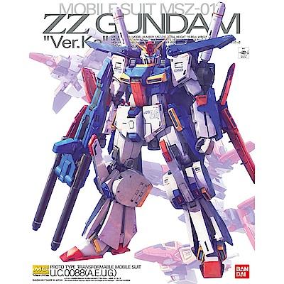 BANDAI 機動戰士鋼彈ZZ MG 1/100 ZZ鋼彈 Ver.Ka