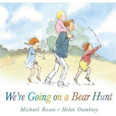 We re Going On A Bear Hunt 我們要去抓狗熊硬頁故事繪本