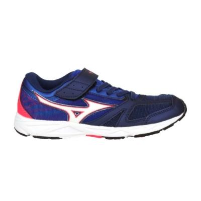 MIZUNO SPEED STUDS BELT 男女童運動鞋-慢跑 路跑 美津濃 K1GC194014 深藍白粉