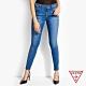 GUESS-女裝-割破窄版牛仔褲-藍 product thumbnail 1