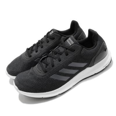 adidas 慢跑鞋 Cosmic 2 運動休閒 男鞋 海外限定 愛迪達 路跑 緩震 透氣 黑 白 DB1758