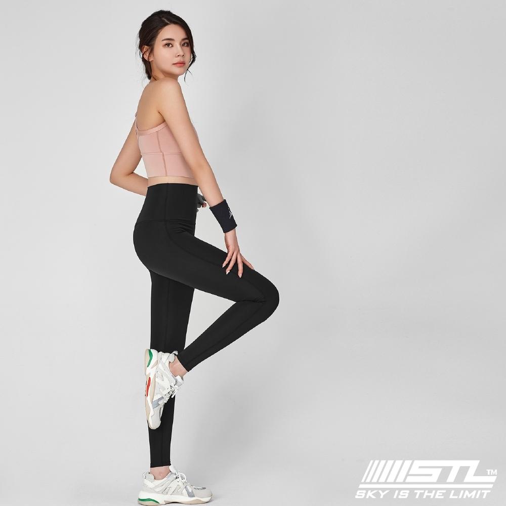 STL yoga Pure Perfect legging 9分 韓國『超高腰』純粹完美 運動機能壓力訓練緊身褲 黑