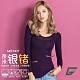 GIAT台灣製180D奈米銀鍺恆溫發熱衣-深紫 product thumbnail 1