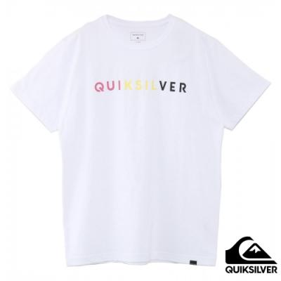 【QUIKSILVER】M&W DIVISION ST 純棉T恤 白
