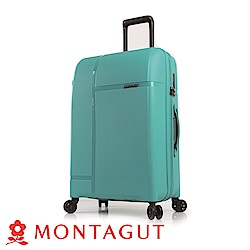 MONTAGUT夢特嬌-24吋專利雙層齒防爆拉鍊飛機輪旅行箱-PP系列