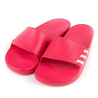 ADIDAS-女運動涼拖鞋BA7867-桃紅