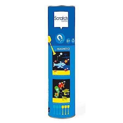 比利時 scratch - 迷你磁性飛鏢(海底世界)