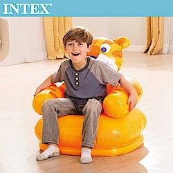 INTEX 可愛動物兒童充氣椅-老虎(68556)