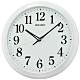 SEIKO 日本精工 滑動式秒針 靜音 掛鐘(QXA776W)白框/33cm product thumbnail 1