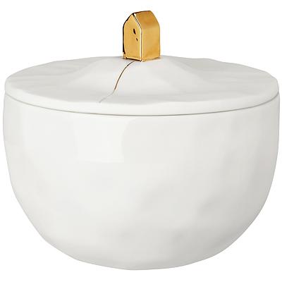 《RADER》手工白瓷收納罐(小屋250ml)