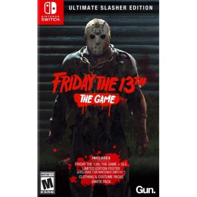 13號星期五終極鮮血淋漓限定版 Friday The 13th-NS Switch英文美版