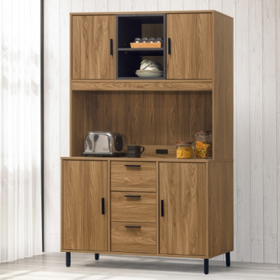 AS-亞伯斯4尺餐櫃全組-121x40x191cm