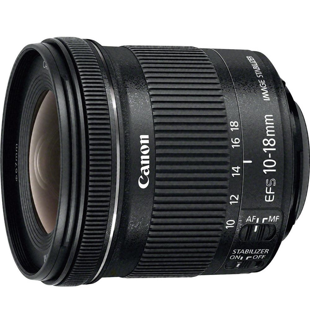Canon EF-S 10-18mm F4.5-5.6 IS STM 變焦鏡頭(公司貨)