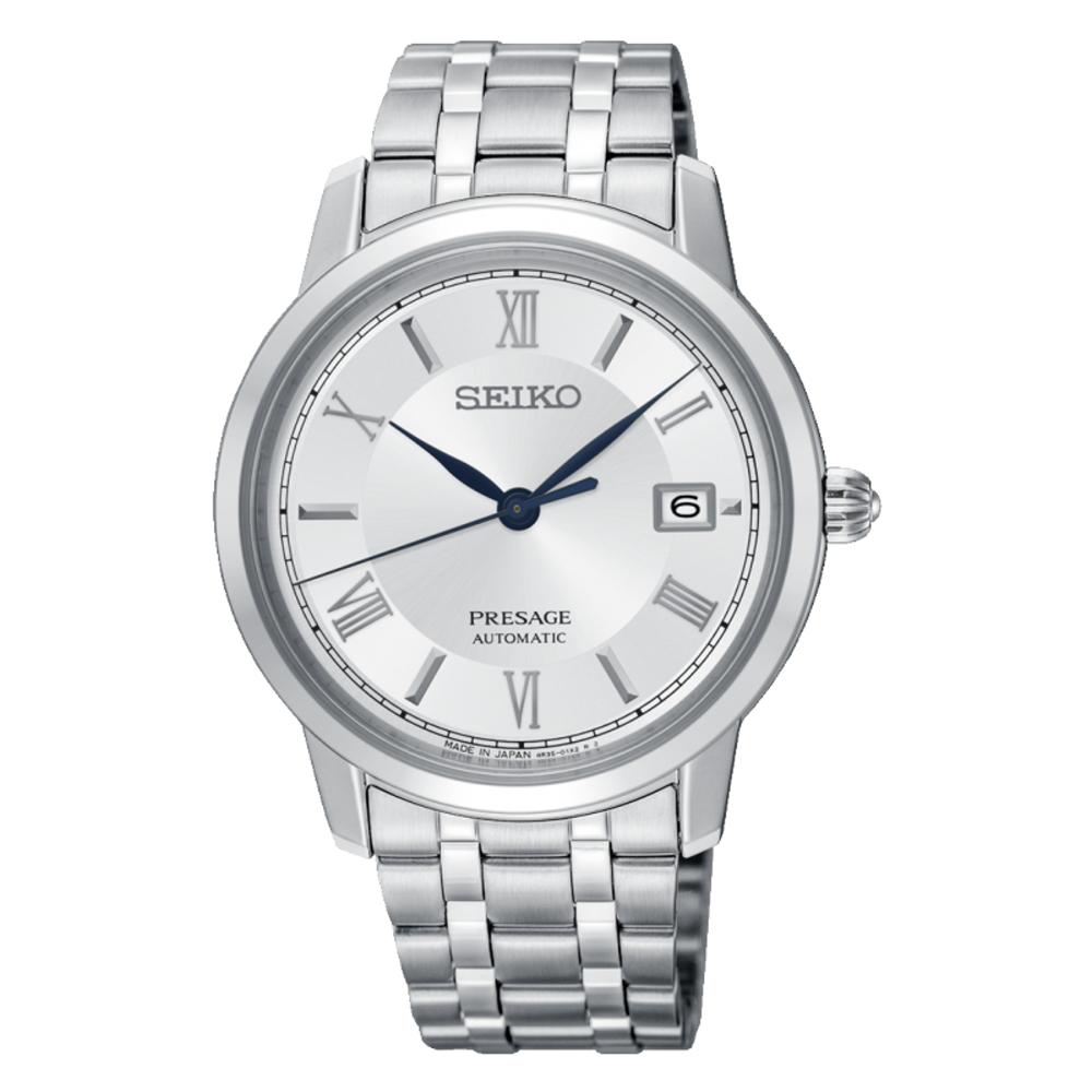 SEIKO 精工PRESAGE機械時尚腕錶/4R35-02J0S.SRPC05J1