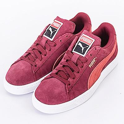 PUMA-女休閒鞋35546250-紅
