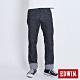 EDWIN EDGE 加大碼 復刻五袋紅線直筒牛仔長褲-男-黑色 product thumbnail 1