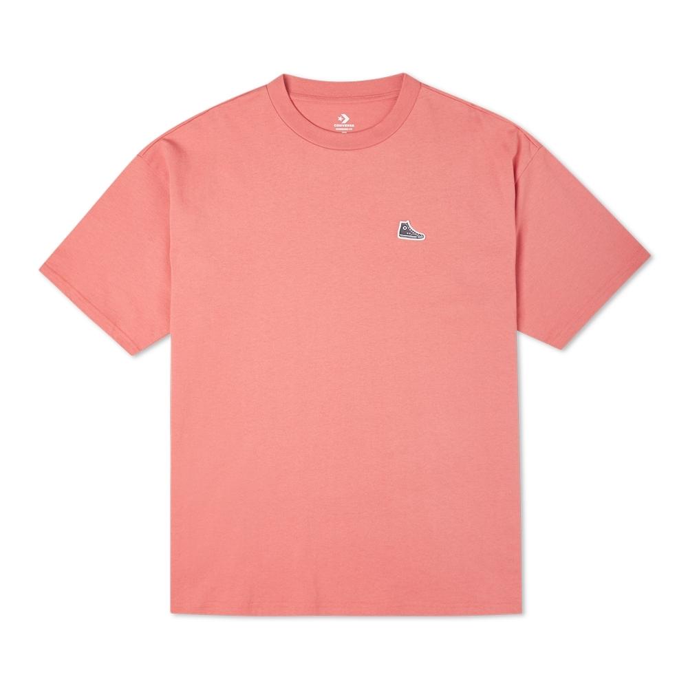 CONVERSE CHUCK TAYLOR SHOE PATCH TEE 男女 短袖上衣 粉紅色 10020931-A12