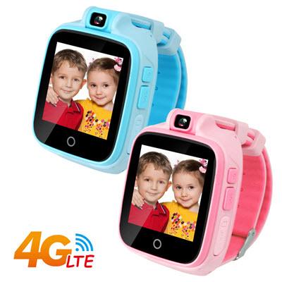 (2入組) IS愛思 CW-04 4G LTE定位監控兒童智慧手錶