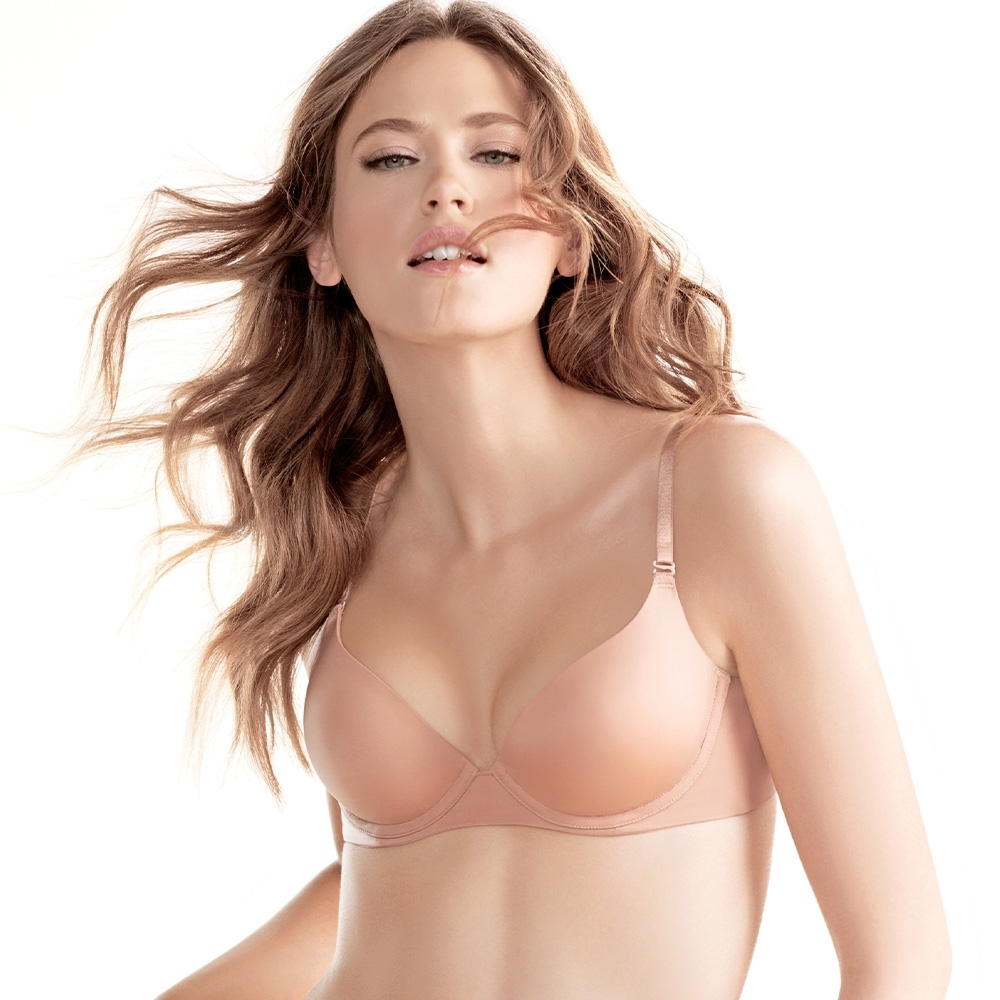 黛安芬-身體底妝 裸色系列 超彈力T-Shirt胸罩 B-E罩杯內衣 經典裸色
