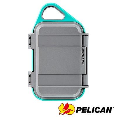 美國 PELICAN G10 GOCASE 微型防水氣密箱-(灰綠)
