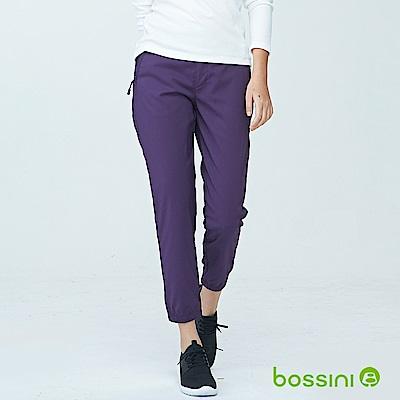 bossini女裝-休閒彈性束口褲01酒紅