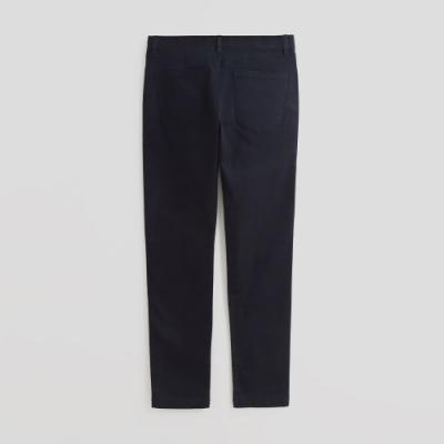 Hang Ten - 男裝 - 純色雙口袋休閒長褲 - 藍