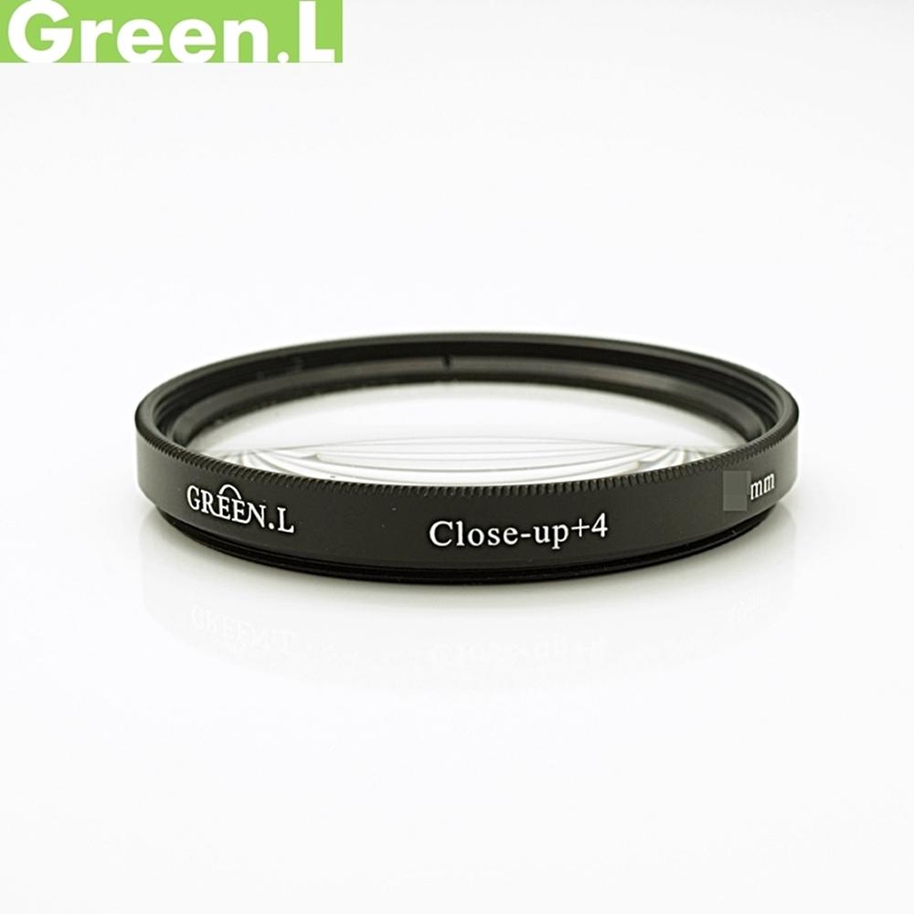 GREEN.L綠葉58mm近攝鏡片放大鏡(close-up+4濾鏡)Macro鏡