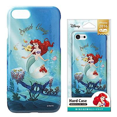 iPhone 8/7/手機殼 迪士尼 PC塗鴉 硬殼 4.7吋-美人魚