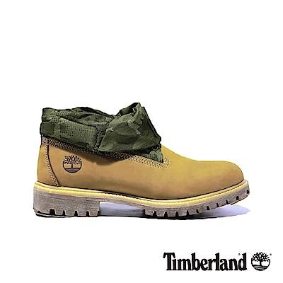 Timberland 男款戶外兩穿迷彩翻靴|A1QY4