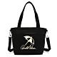 Arnold Palmer -2WAY手提包 經典LOGO系列 -黑色 product thumbnail 1