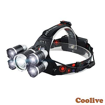 Coolive「CREE T 6  LED」五雷金剛強光頭燈