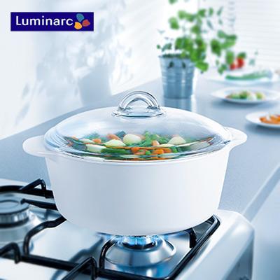 法國樂美雅純白陶瓷耐熱鍋3.5公升(ARC-35)