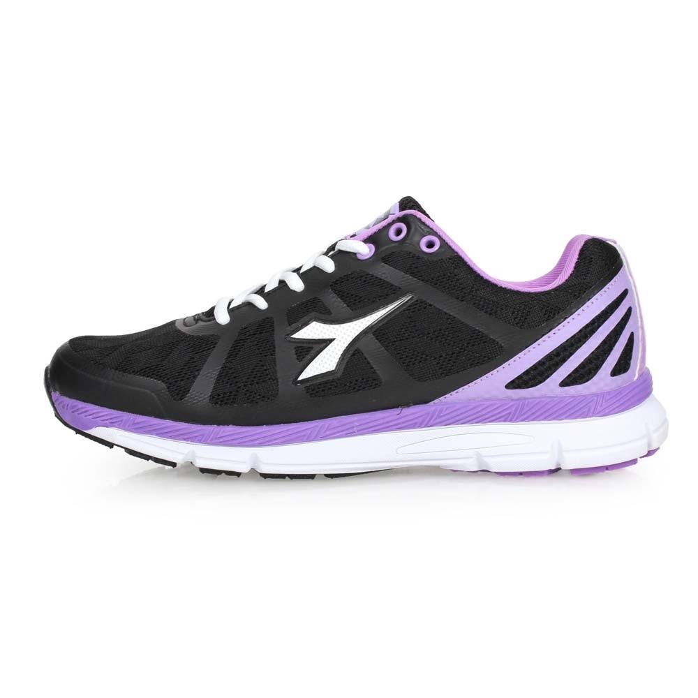 DIADORA 女慢跑鞋-路跑 黑紫