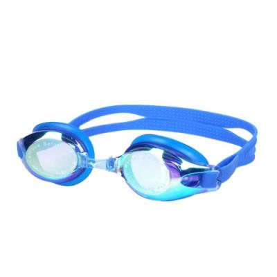MIZUNO SWIM 泳鏡-蛙鏡 游泳 競賽 防務 抗UV 附可替換鼻橋 美津濃 N3TE702100-13 藍