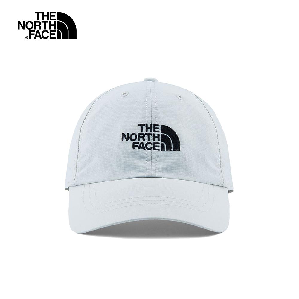 The North Face北面男女款灰色防曬透氣運動帽 CF7W5WH