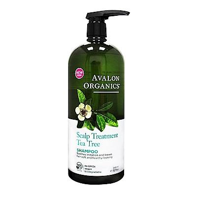 AVALON ORGANICS 茶樹頭皮調理精油洗髮精(946ml/32oz)