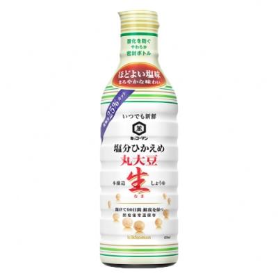 Kikkoman 龜甲萬 減鹽丸大豆釀造生醬油(450ml)