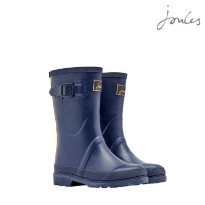 英國【Joules】氣質藍雨靴(黃藍條)