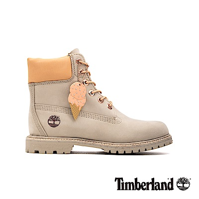 Timberland 女款淺褐色磨砂革冰淇淋系列6吋靴|A1W16