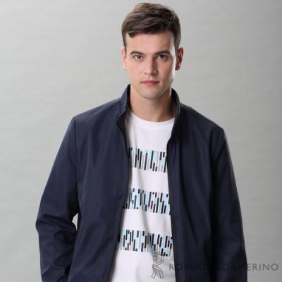 ROBERTA諾貝達 休閒時尚 輕薄流行夾克外套 深藍